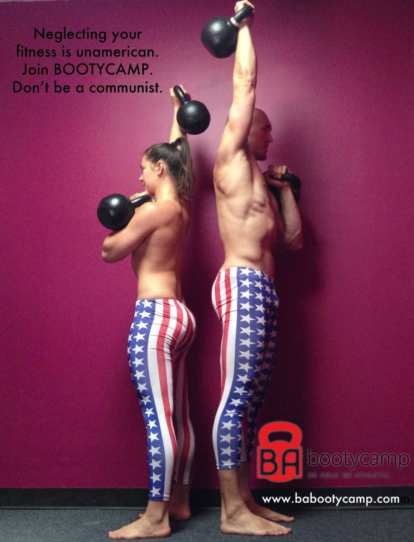 Don't be unamerican. LIft.